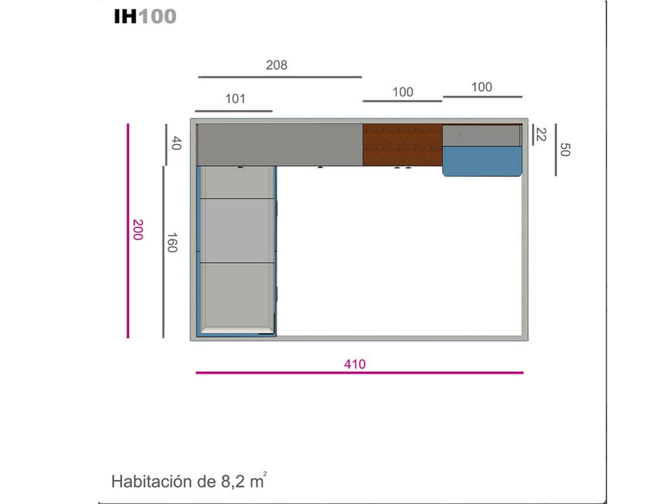 Ih100 medidas
