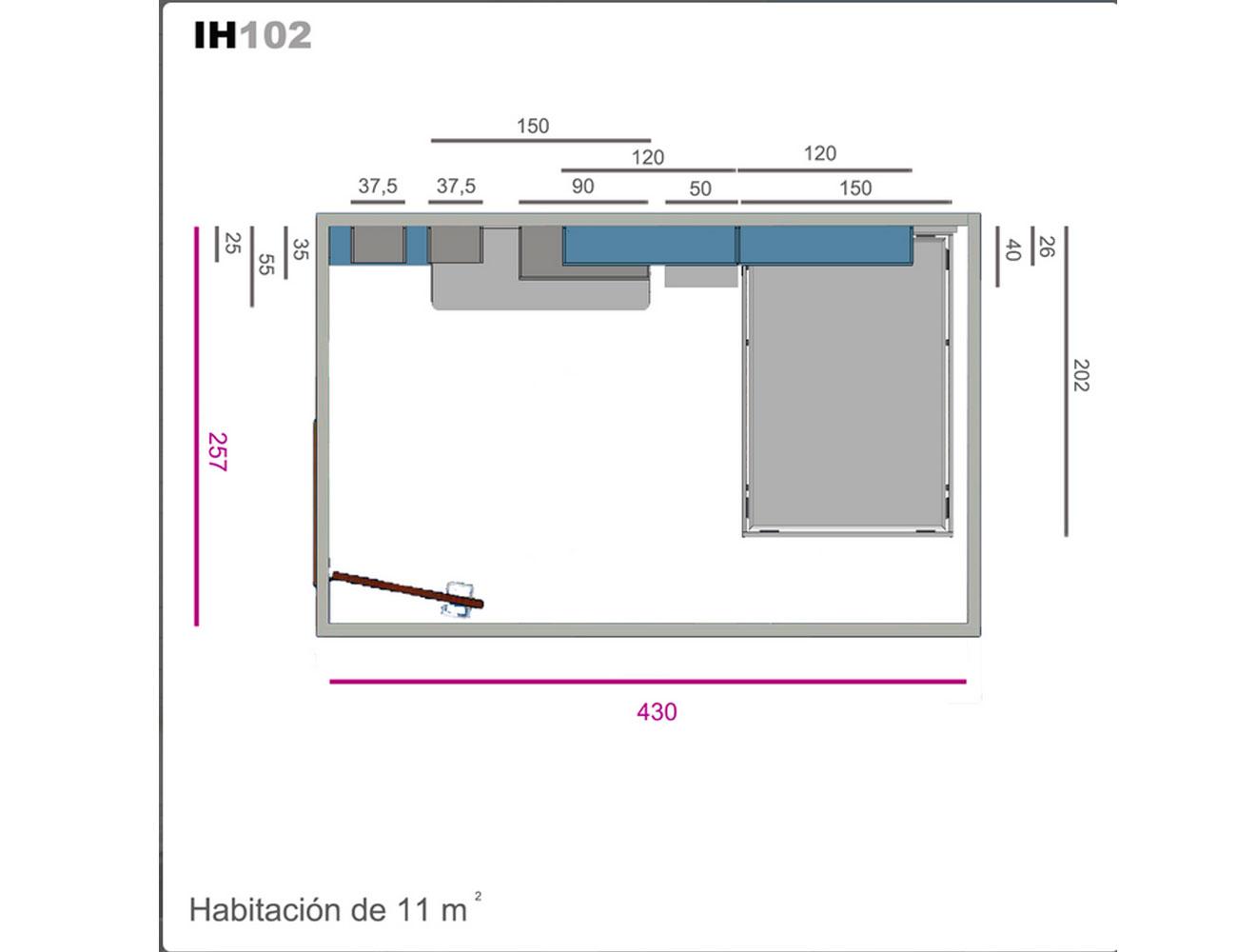 Ih102 medidas