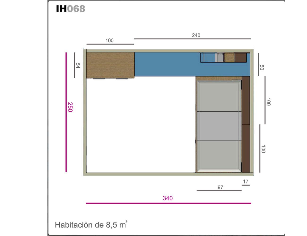 Ih68 medidas
