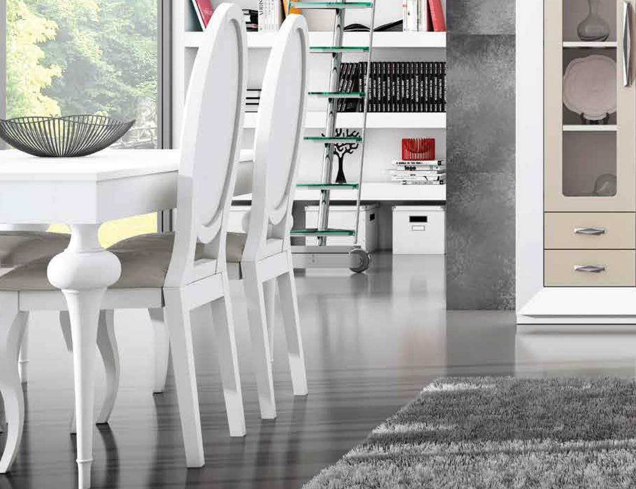 Mesa sillas composicion 01