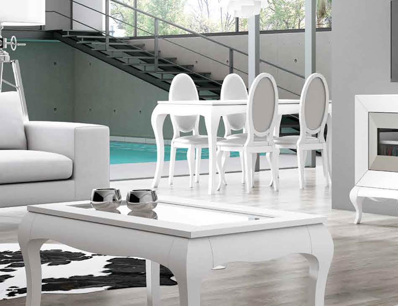 Mesa sillas composicion 05