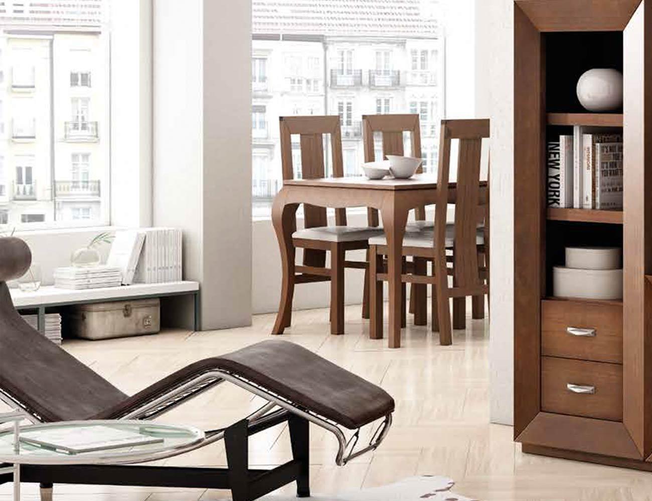 Mesa sillas composicion 10