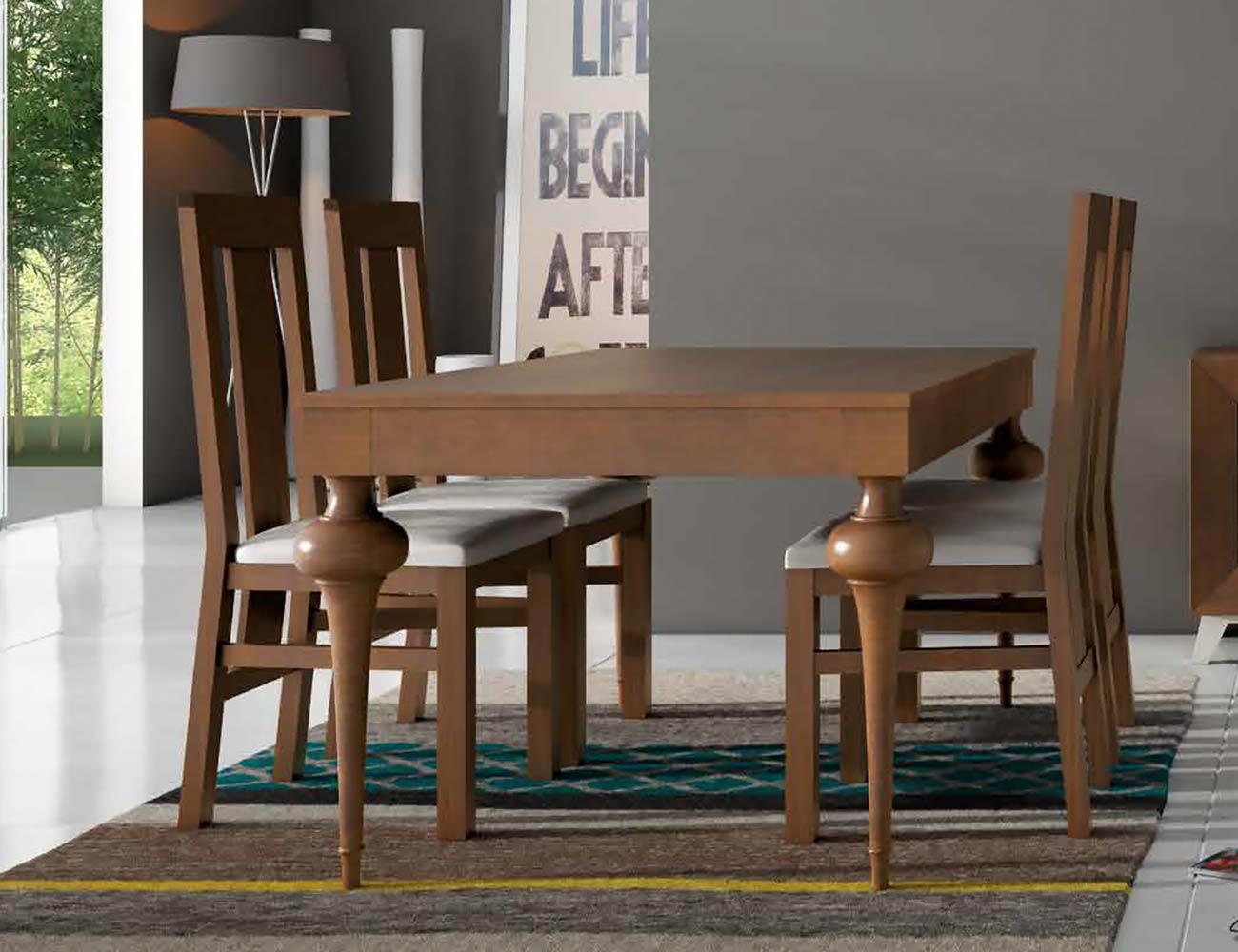 Mesa sillas composicion 15
