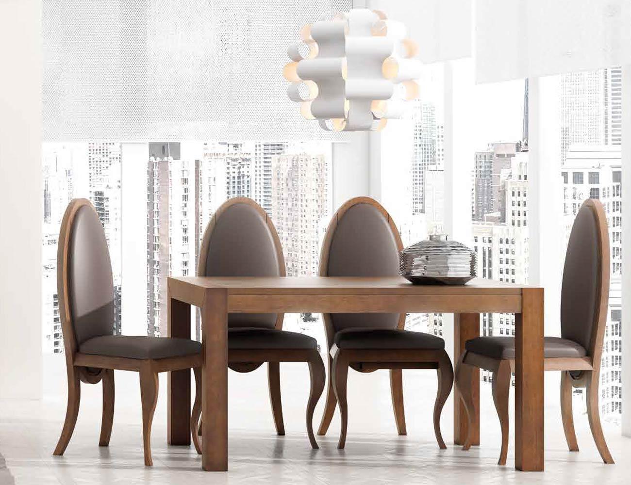 Mesa sillas composicion 16