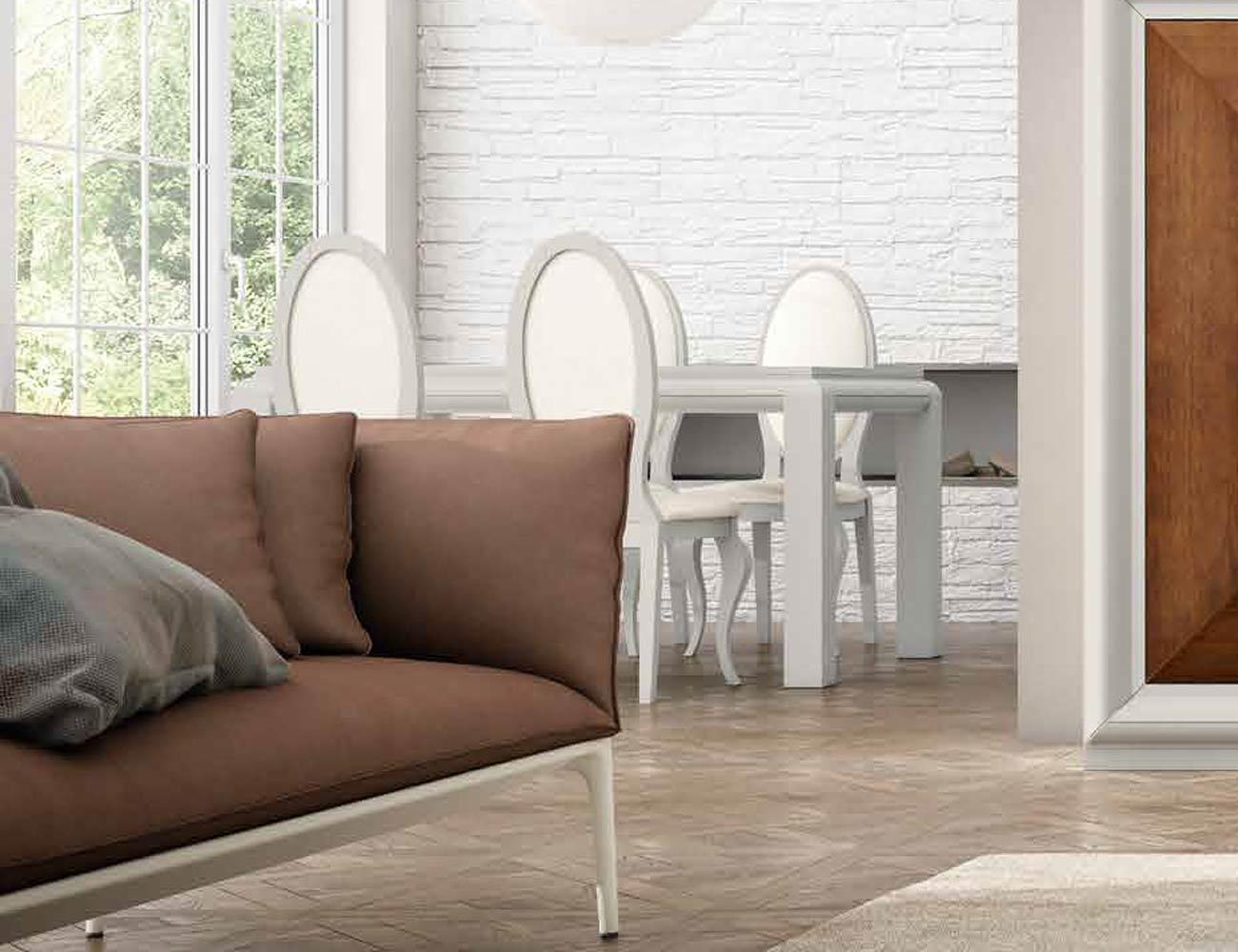 Mesa sillas composicion 27