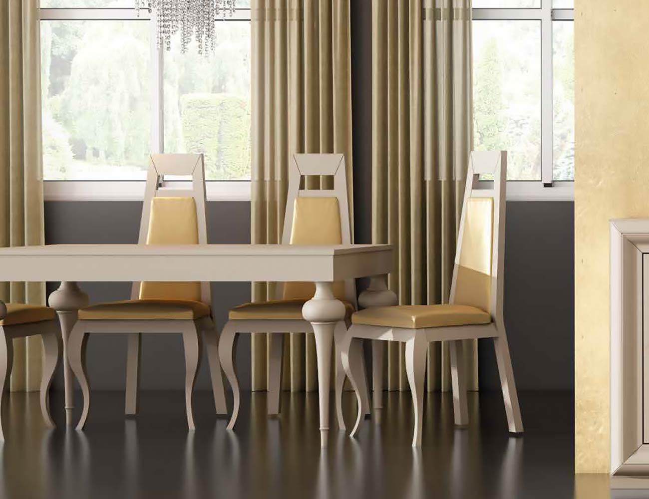 Mesa sillas composicion 33