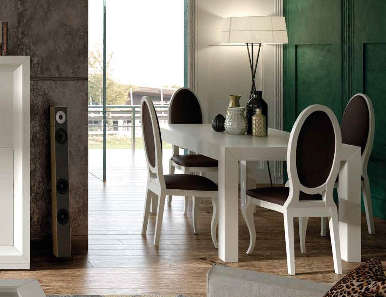Mesa sillas composicion 37