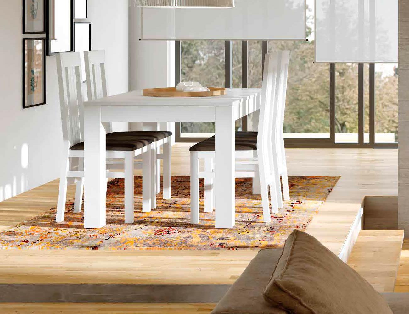 Mesa sillas composicion 41