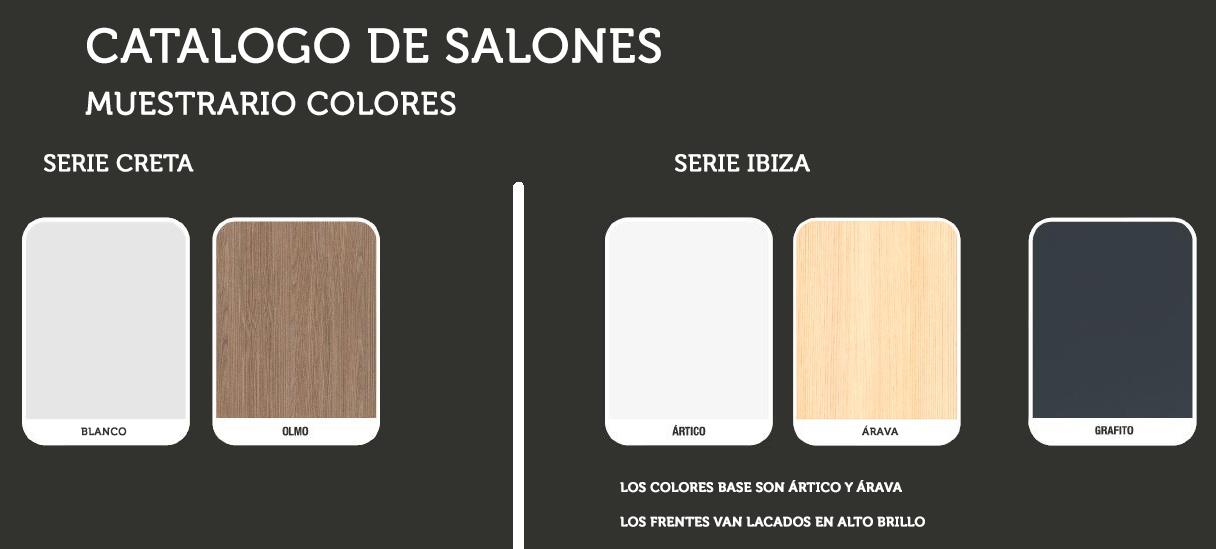 Muestrario colores salon21