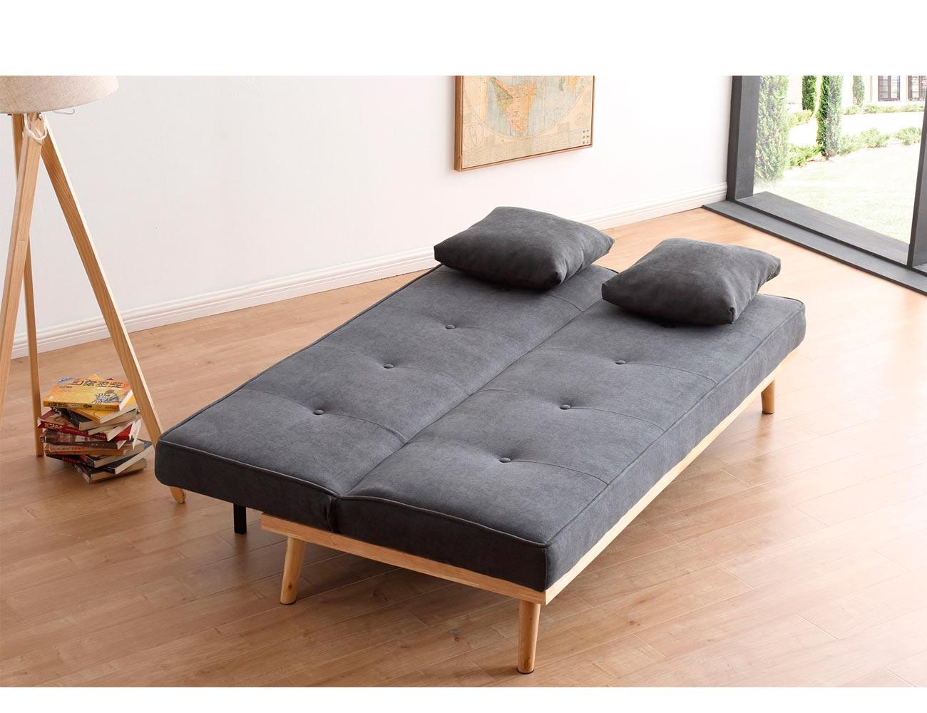 Sofa cama clic clac gris 21