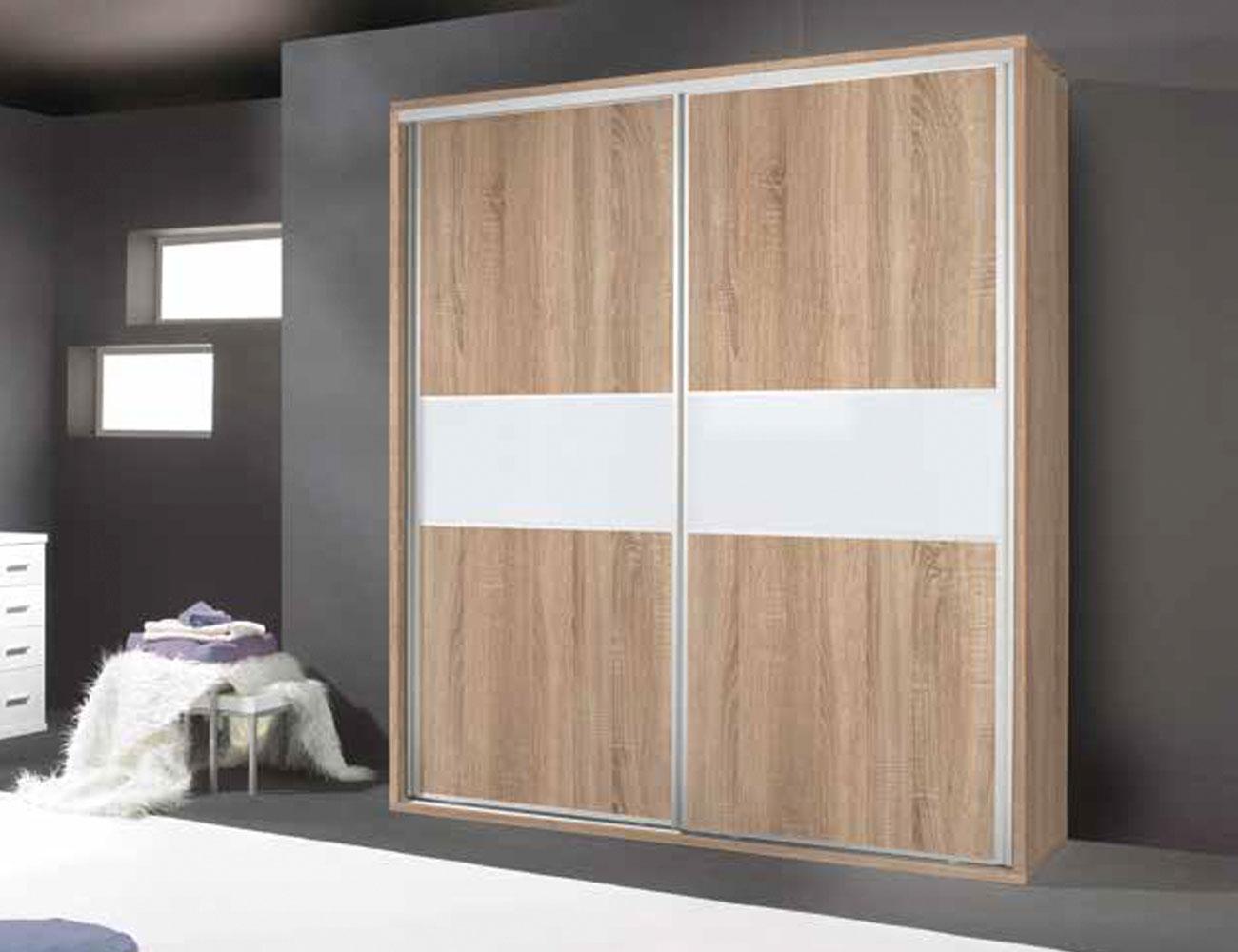Armario moderno de 3 puertas correderas en cambrian ceniza - Puertas correderas o abatibles ...