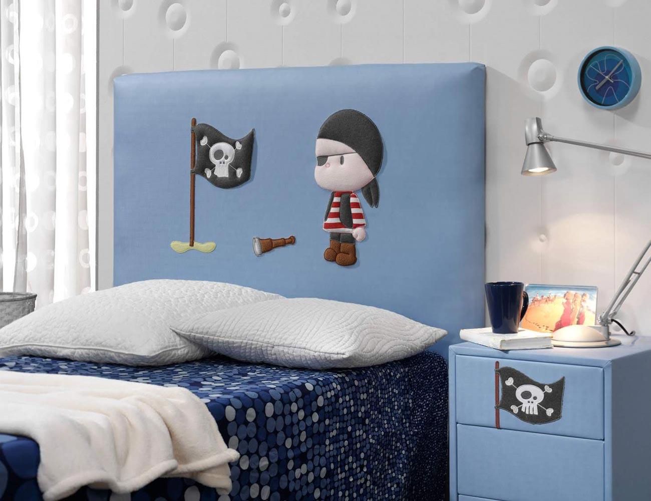 Cabecero pirata