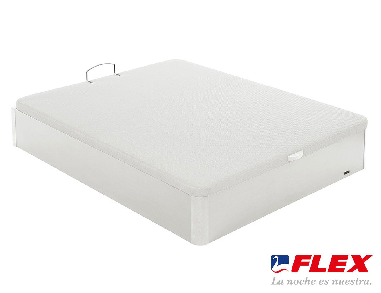 Canape flex abatible blanco 2
