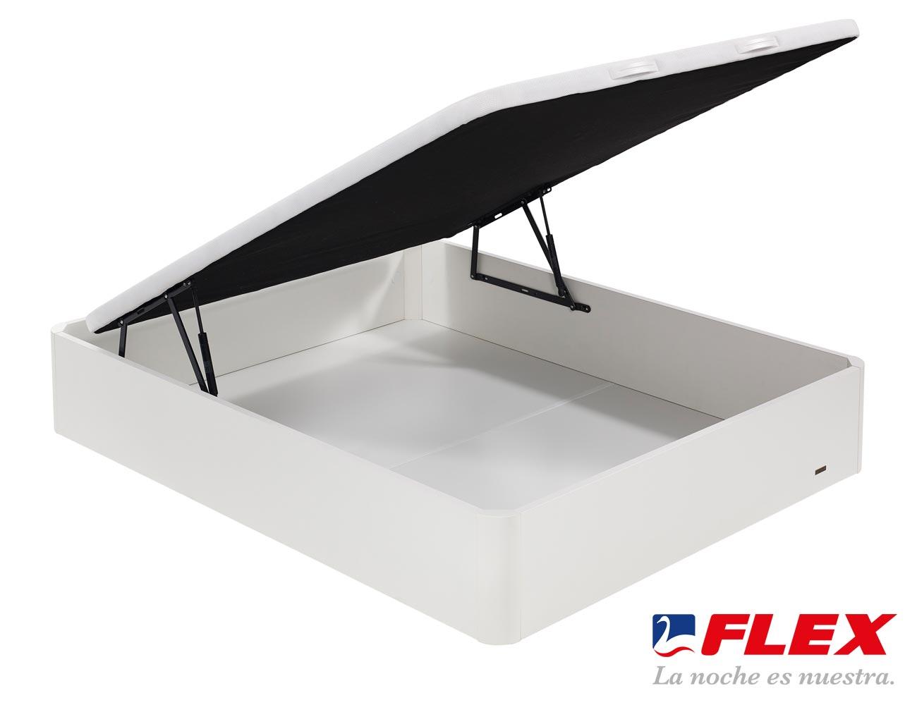 Canape flex madera abatible tapa3d blanco1