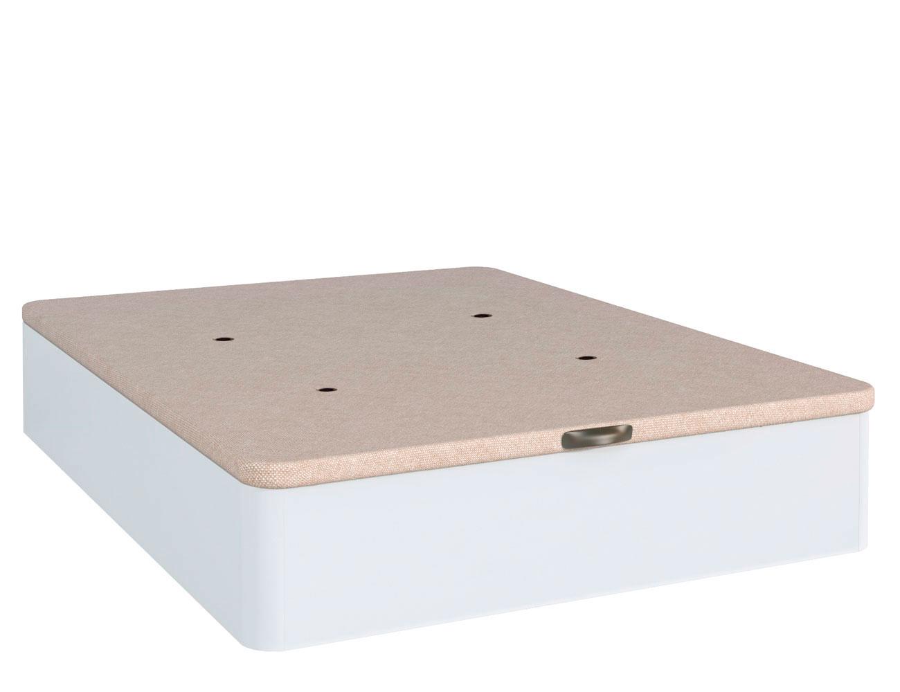 Canape madera blanco ebro tapa 3d blanco