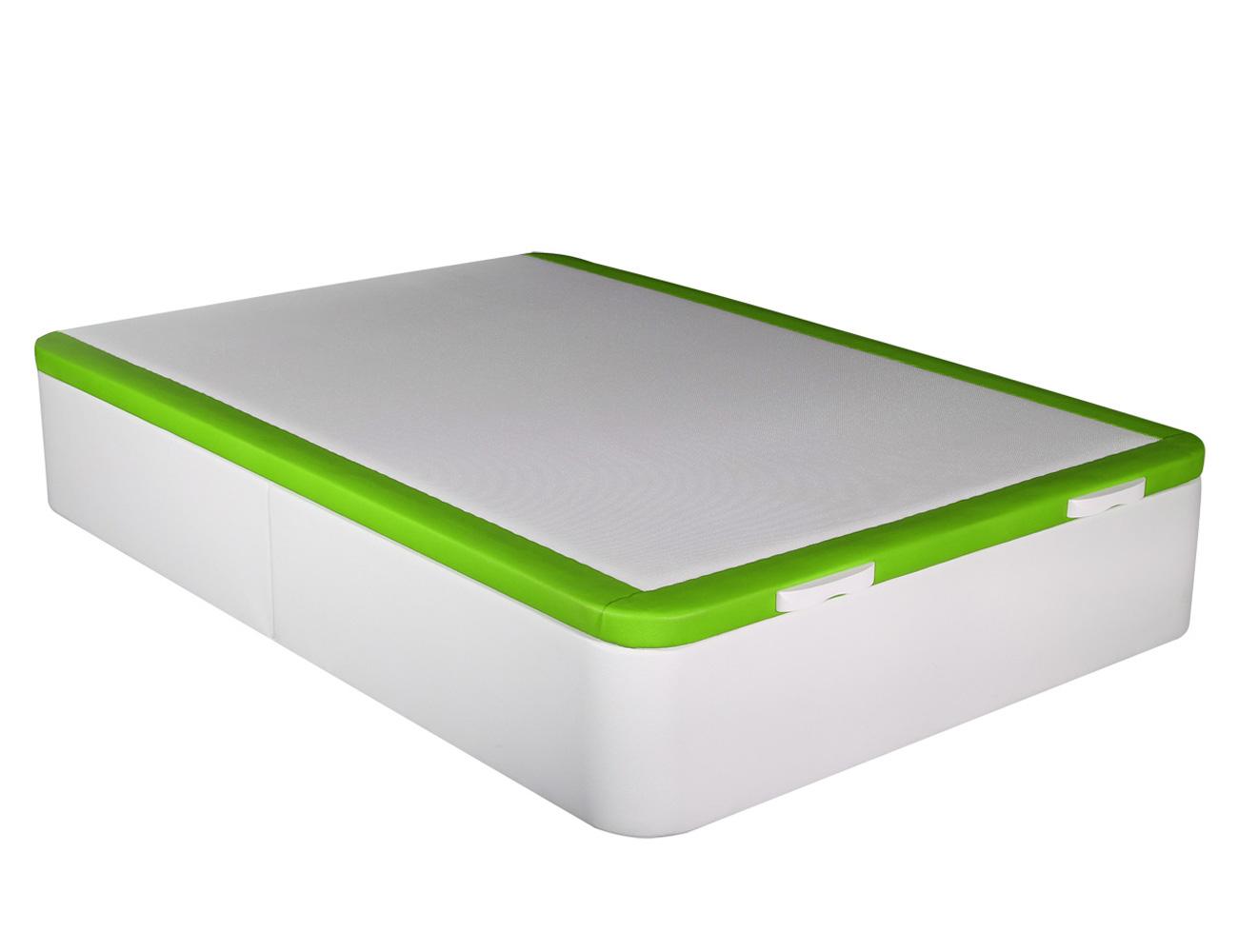 Canape polipiel blanco verde hercules