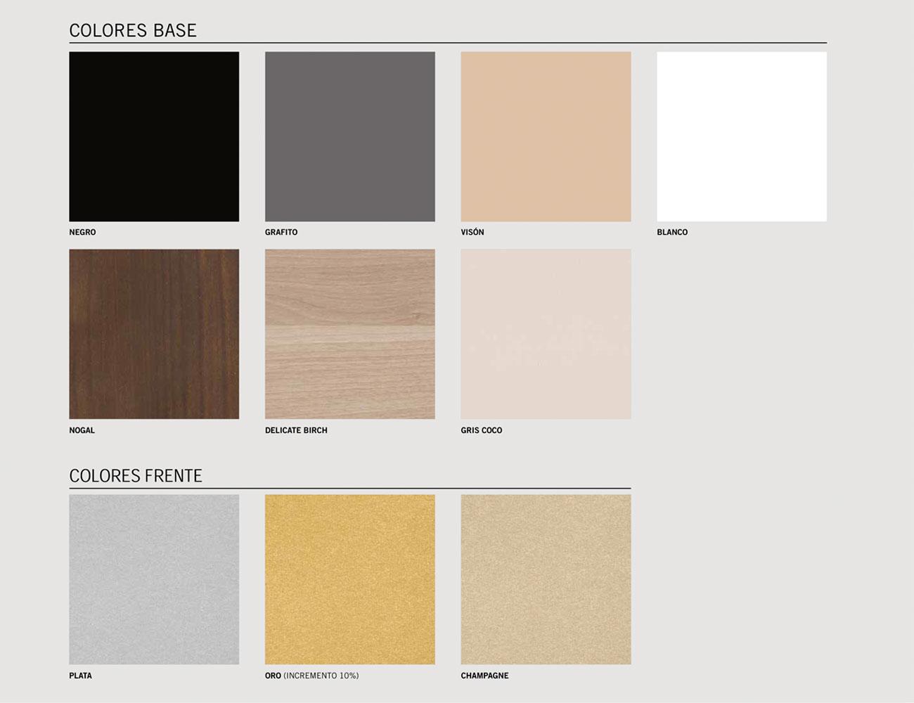 Colores base21