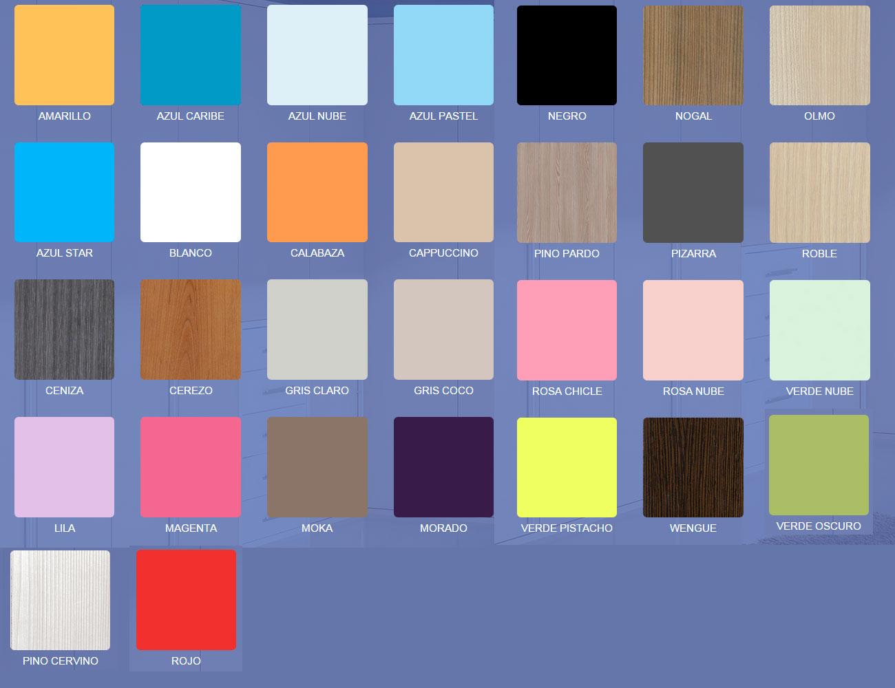 Colores dorma55