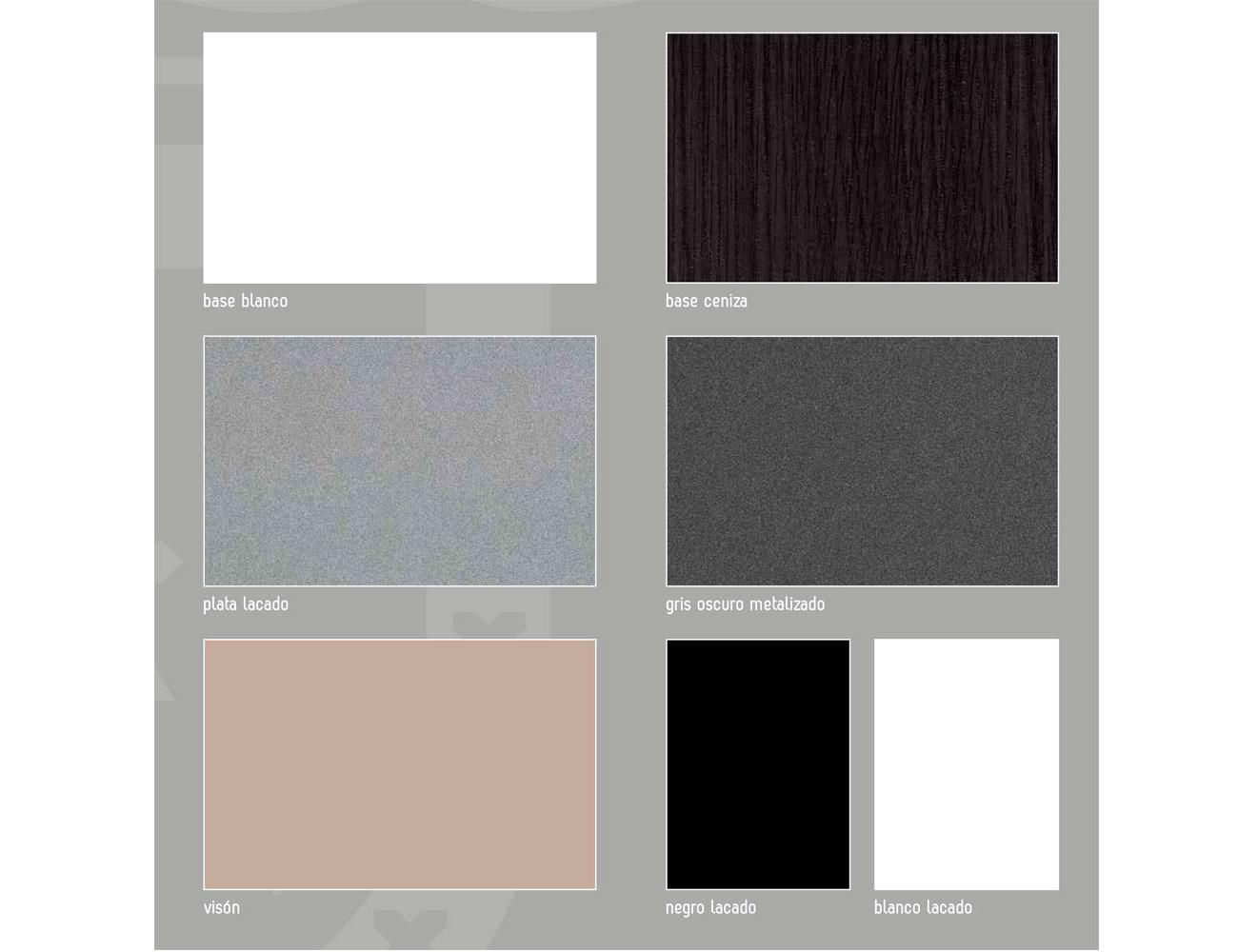 Colores silver