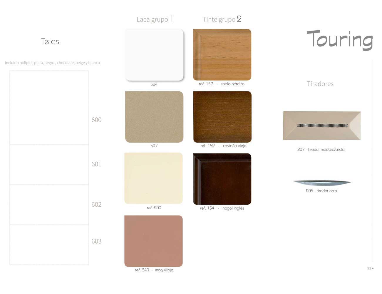 Colores tejidos