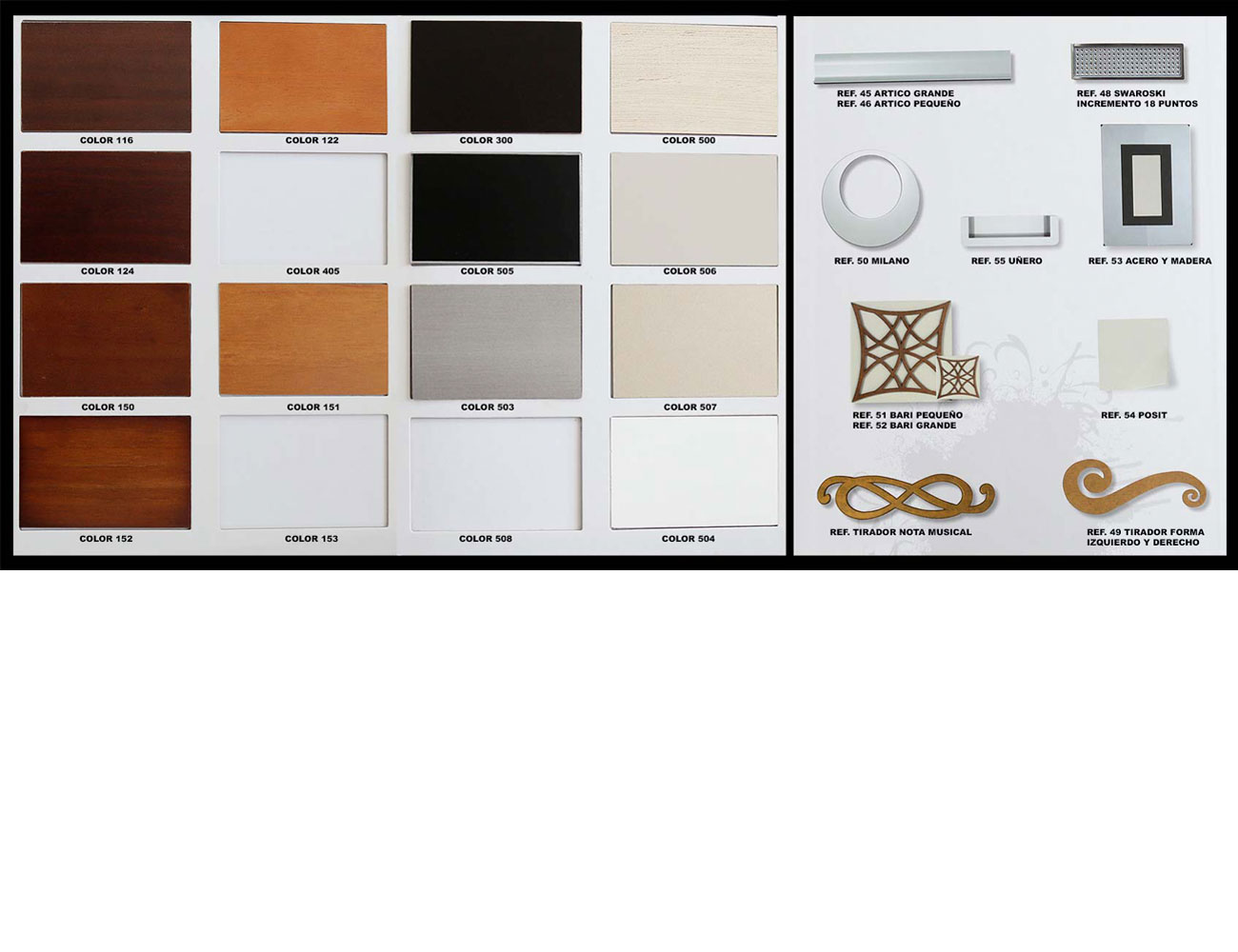 Colores tiradores24