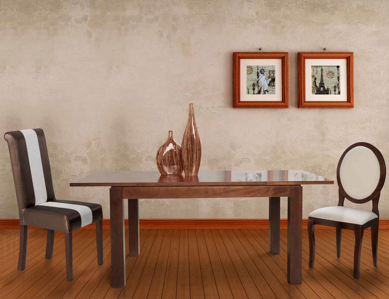 Composicion 14 mesa extensible silla