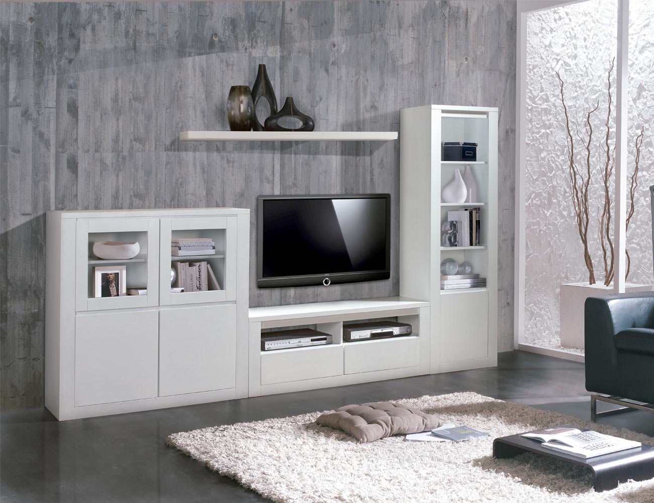 Composicion 2 mueble salon comedor detalle