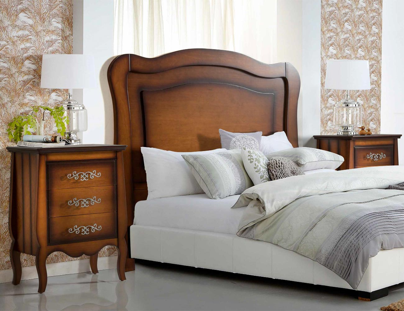 Composicion01 dormitorio matrimonio madera