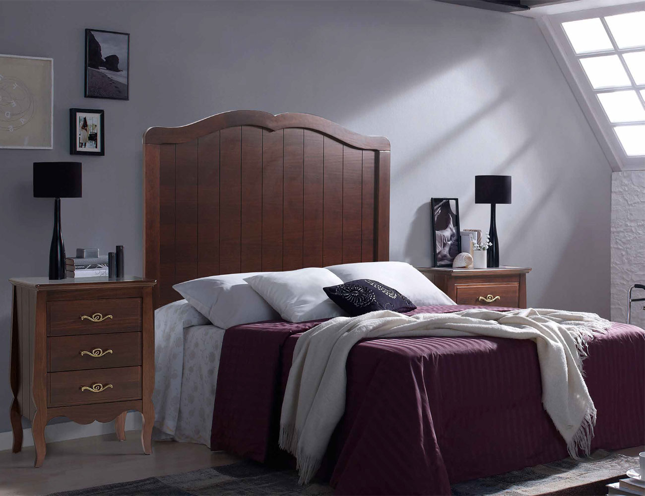 Composicion04 dormitorio matrimonio comoda