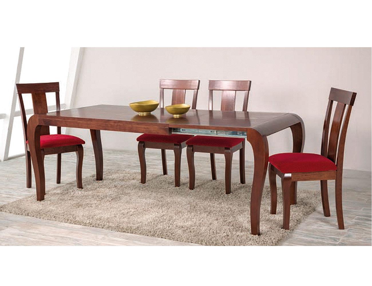 Composicion60 mesa extensible abierta silla salon 2