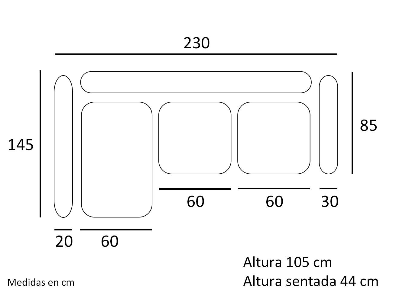 Croquis chaiselongue 23015
