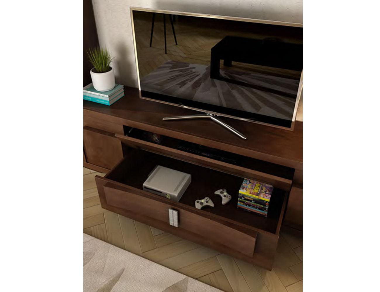 Detalle cajon mueble tv