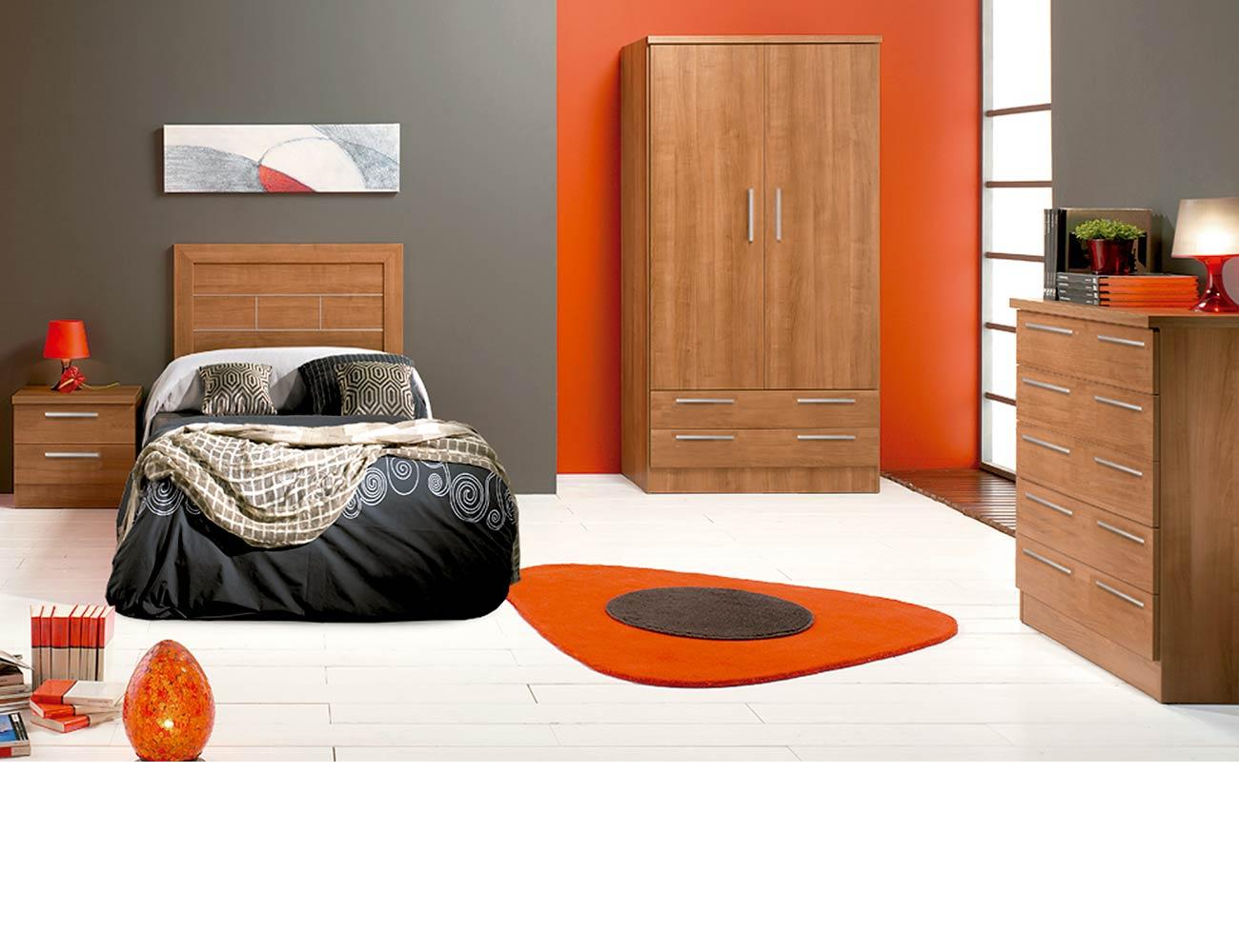 Dormitorio juvenil 57 walnut1
