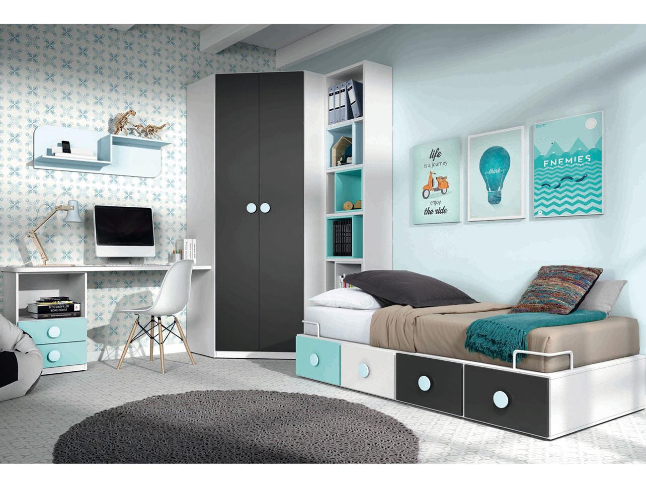 Dormitorio juvenil city21