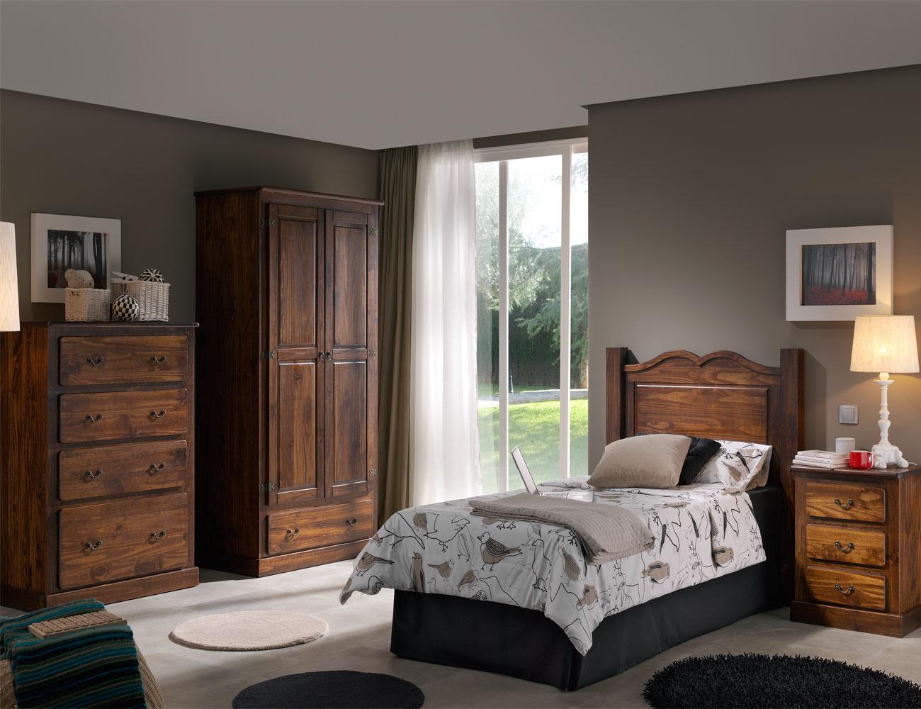 Dormitorio juvenil comoda armario
