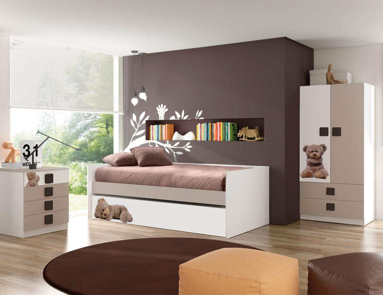 Dormitorio juvenil osito 2