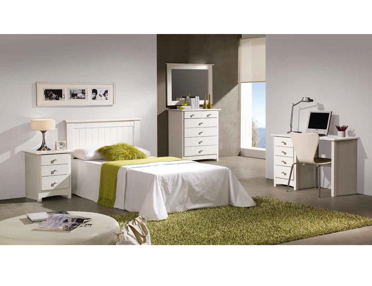 Dormitorio juvenil sinfonier mesa escritorio estudio