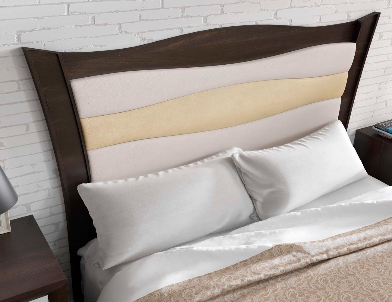 Dormitorio matrimonio blanco lacado romantico