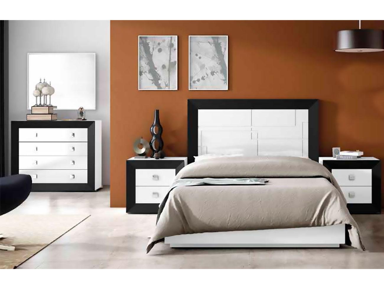Dormitorio matrimonio lacado 062