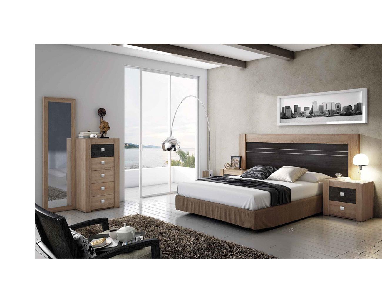 Dormitorio moderno cambrian ceniza 02