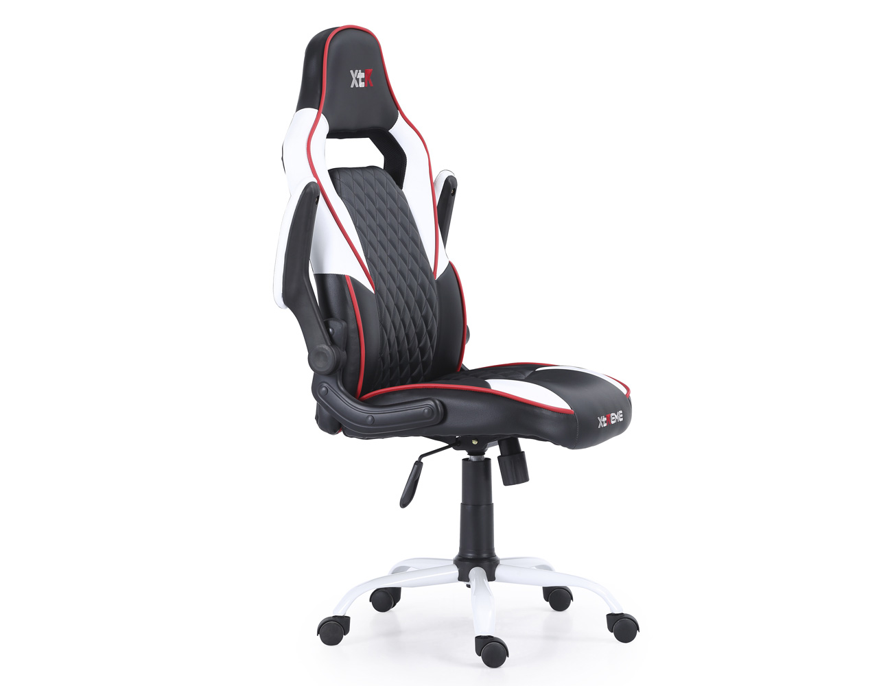 Gamer blanco rojo2