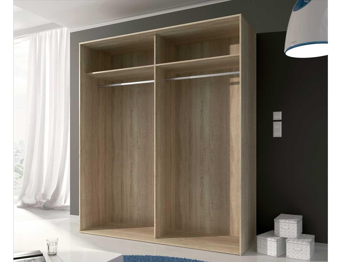 Interior armario correderas