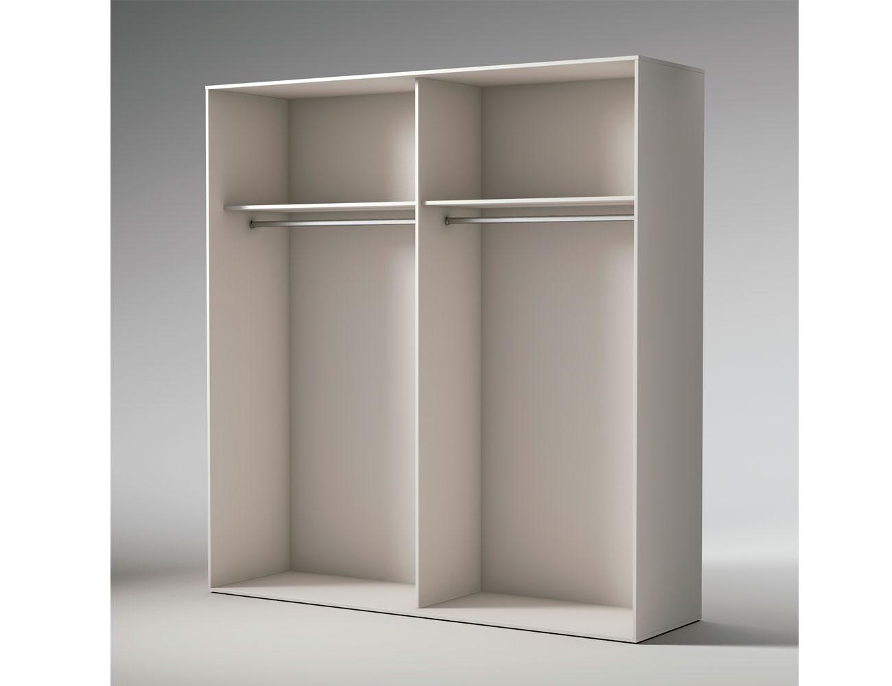 Interior armario puertas correderas