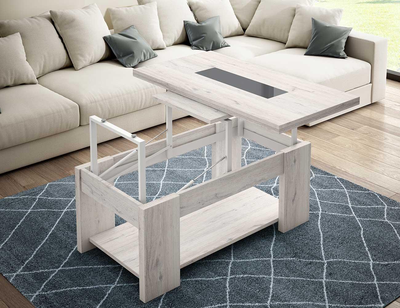 Mesa de centro convertible en mesa de comedor (24631) | Factory del ...