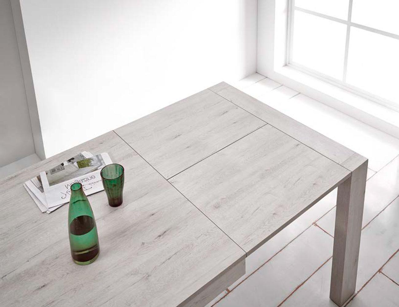 Mesa de carro extensible en colores modernos y actuales for Tu factory del mueble