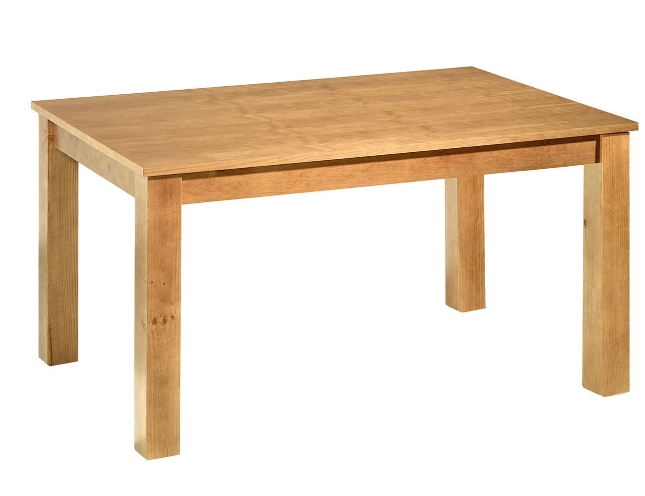 Muebles de sal n comedor de madera de pino en color miel for Muebles de pino color miel