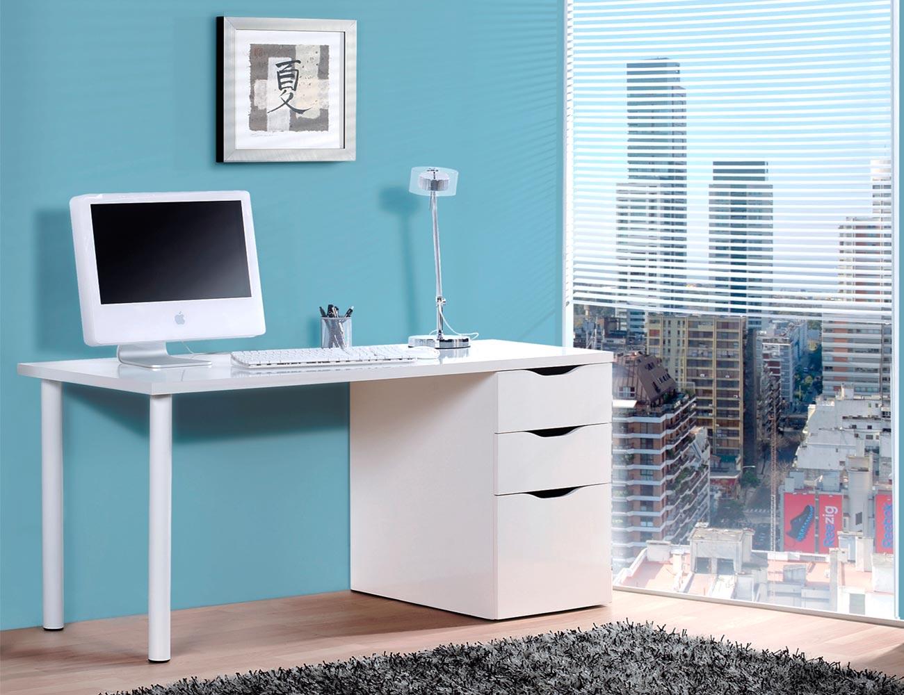 Mesa ordenador escritorio reversible 3