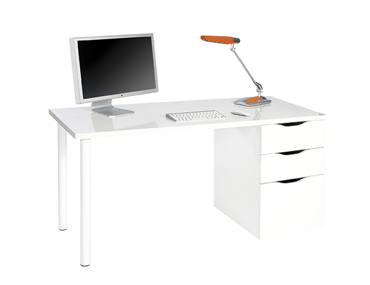 Mesa ordenador escritorio reversible