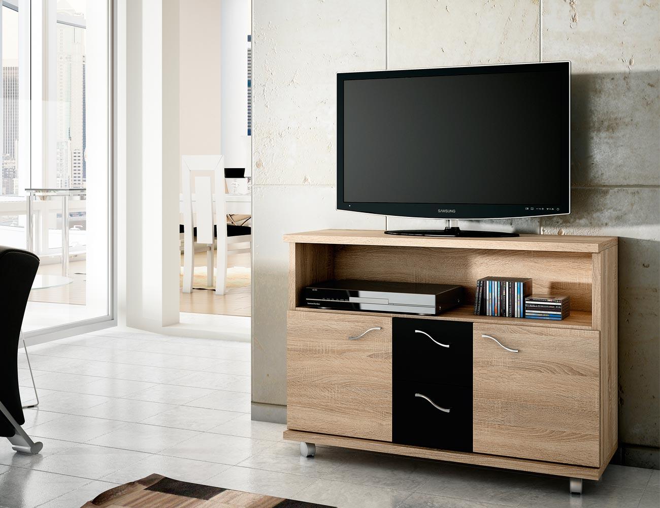 Mesa tv cambrian negro 33