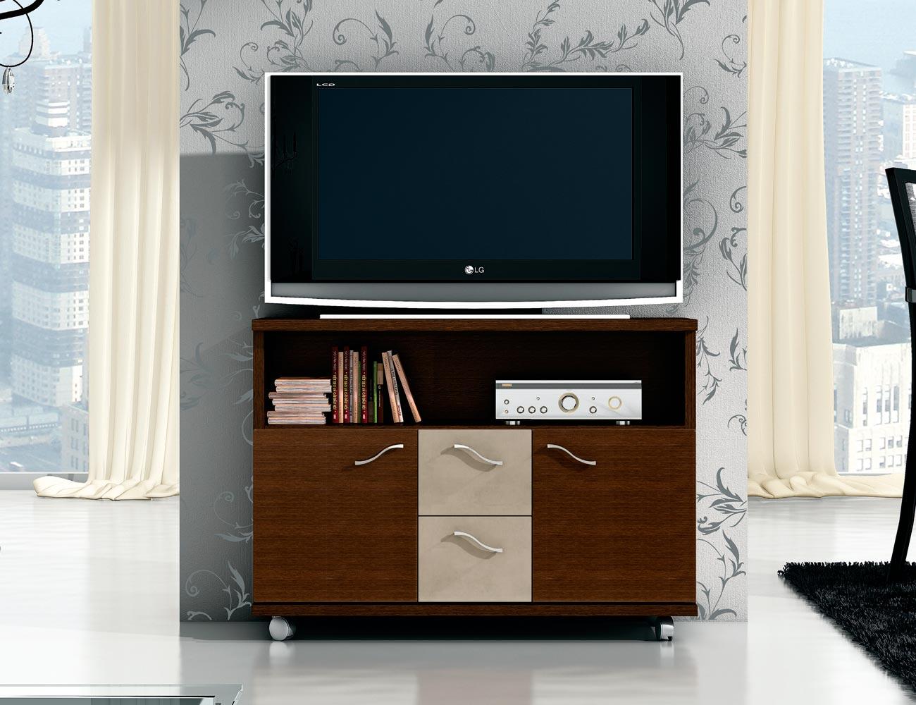 Mesa tv wengue plata 33
